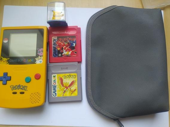 Nintendo Game Boy. Edição Especial Pokemon. Super Conservado