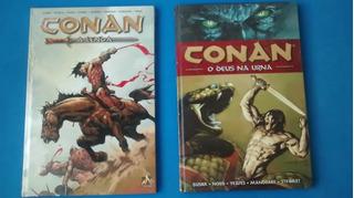 2 Hqs Do Conan: - Conan A Lenda / Conan O Deus Na Urna