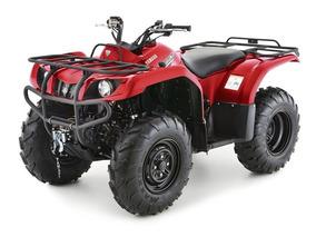 Yamaha Grizzly 350 4x4 Lock Winch Asiento Trasero Roja