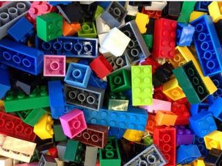 Lego A Granel 1 Kilo De Piezas De Sugunda Mano