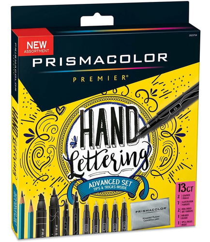 Imagen 1 de 7 de Prismacolor Juego De Marcadores Para Letterig Manualidades