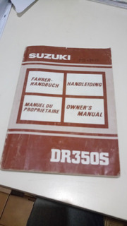 Manual De Usuario Original Suzuki Dr 350 S