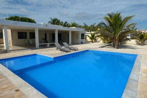 Hermosa Casa En Renta En La Playa Chicxulub, Yucatan