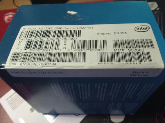 Procesador Intel I5 7600