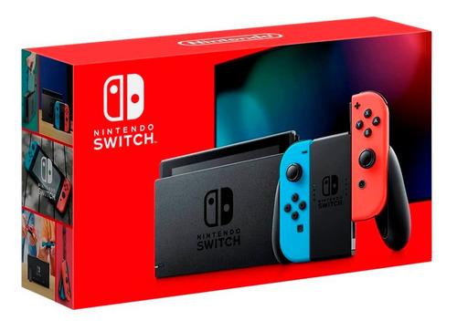 Consola Nintendo Switch 1.1 V2 2019 Neon Ccstore
