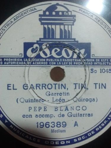 Pepe Blanco Carmen Morell Disco Pasta Odeon 196389 C69