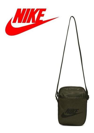 Bolso Nike Heritage Verde - Ba5871-325