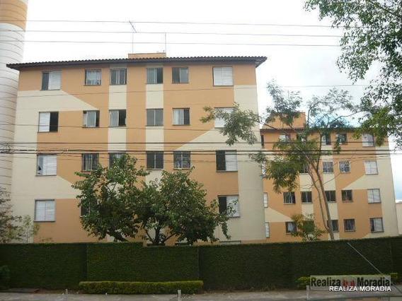 Apartamento Com 2 Dormitórios 45 M² Por R$ 800/mês + Taxas - Granja Viana - Sp - Ap0761
