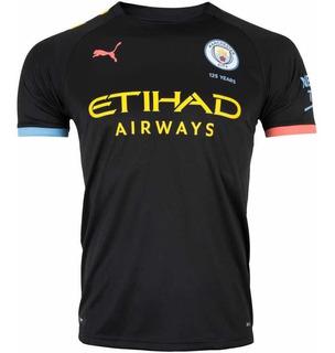 Nova Camisa Manchester City Preta 2019/2020 !! Frete Grátis