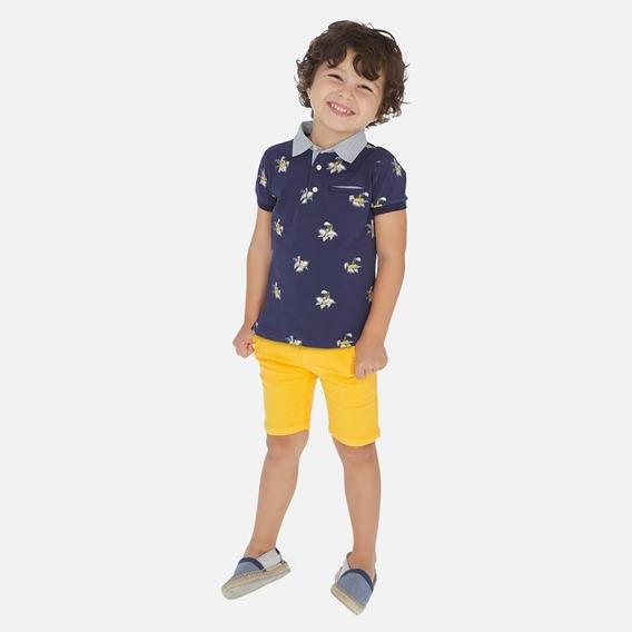 Conjunto Polo Y Short Niño Mayoral 3146 #2-7 Años R