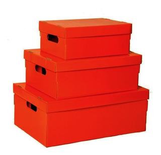 Cajas De Cartón Para Armar 48x33x18 Cm Muchos Diseños
