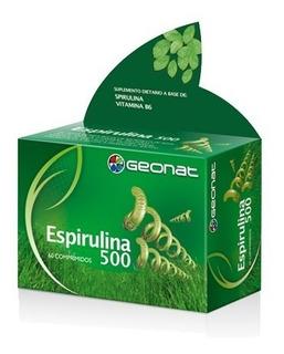 Espirulina 500 Spirulina 500 X 60c Geonat Provefarma