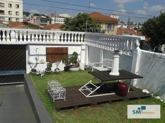 Casa Residencial À Venda, Santa Maria, São Caetano Do Sul. - Ca0013