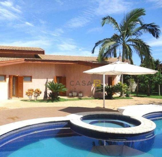 Casa Com 3 Dormitórios À Venda, 546 M² Por R$ 3.800.000,00 - Condomínio Altos Da Represa - Americana/sp - Ca0535