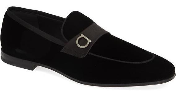 Slipon Salvatore Ferragamo Original Velvet Loafers 6mx