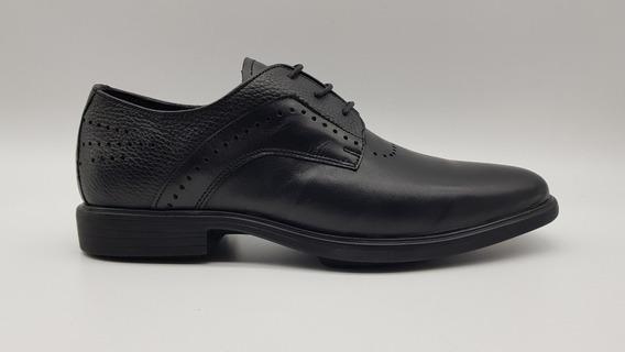 Zapato Hombre Vestir Cuero Fondo Goma Art 7717