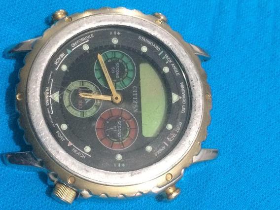 Relógio Citizen C080 Pra Ret. De Peças (sucata)