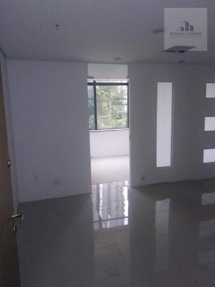 Sala Comercial, Para Locação, Moema, 45 M² - São Paulo/sp - Sa0269