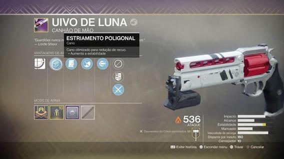 Uivo De Luna-destiny 2(todas As Plataformas)