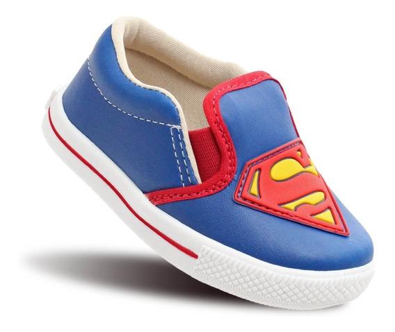 Tenis Superman Infantil Meninos Masculino Modinha Vingadores
