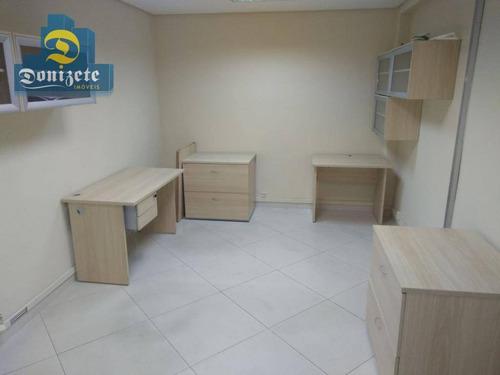 Sala À Venda, 155 M² Por R$ 850.000,10 - Paraíso - Santo André/sp - Sa0463
