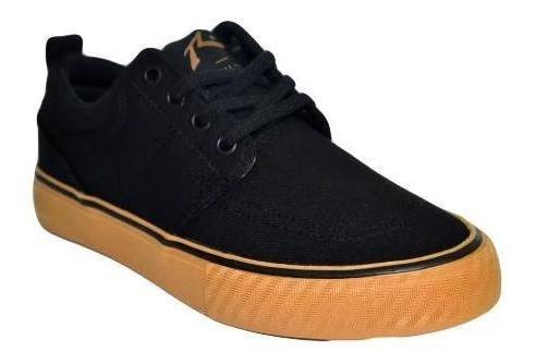 Zapatillas Yonkers Black Caramelo