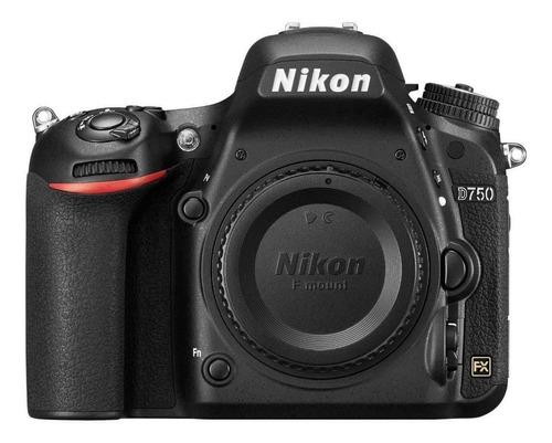 Nikon D750 DSLR cor preto
