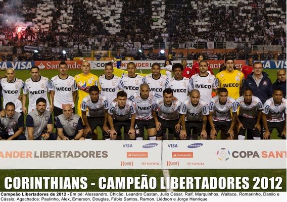 Poster Do Corinthians - Campeão Da Libertadores 2012