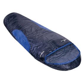 Saco De Dormir Ntk Antartik -7ºc À 3ºc - Preto E Azul