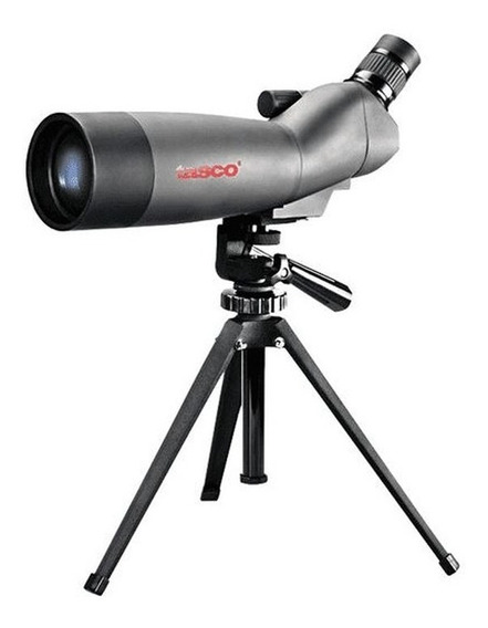Luneta Spotting Scope Tasco 20x-60x60mm Tripé E Case Tasco
