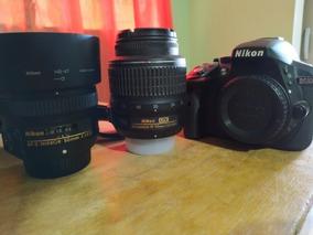 Câmera Nikon 5300 + Lente Do Kit 18-55mm + Lente De 50mm 1.8