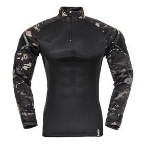 Airsoft Camisa Invictus Raptor Multicam Black - Tamanho P