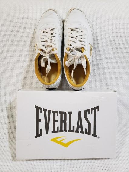 Tênis Everlast Scape Feminino Usado Branco/dourado Tam. 38