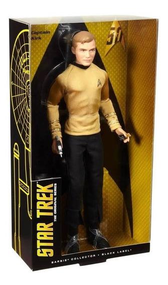 Boneco Barbie Collector Ken Capitão Kirk Star Trek Série