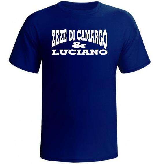 Camisa Camiseta Sertanejo Zezé Di Camargo E Luciano Banda