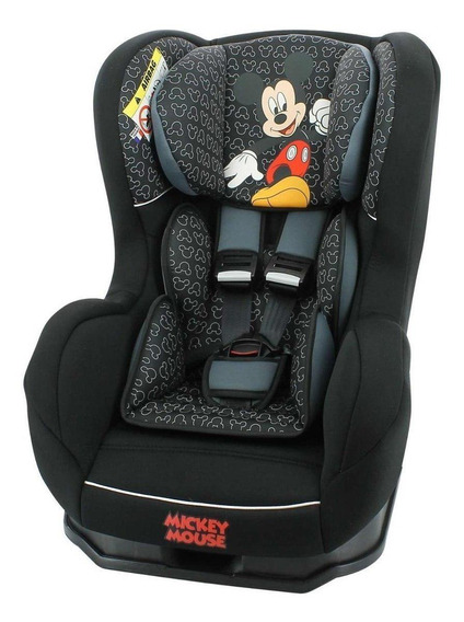 Cadeira para carro Team Tex Disney Primo Mickey Mouse Preto