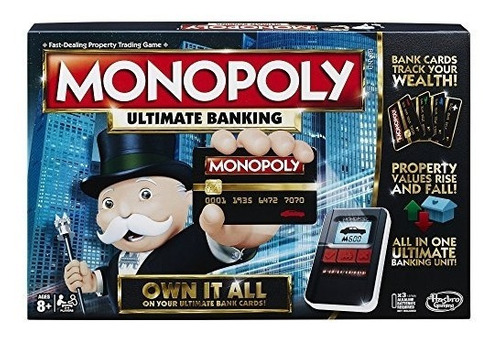 Hasbro Monopoly Juego: Ultimate Edition Bancario