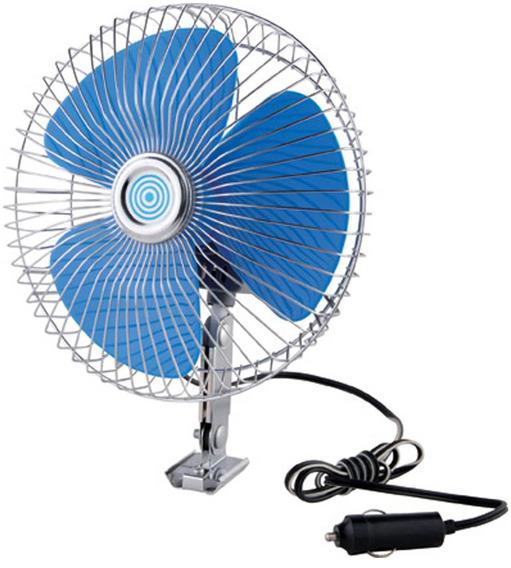 Ventilador Metálico 12v 24v 8 Oscilante Auto Colectivos