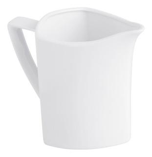 Cremera Triangular Porcelana Blanco Blanco 1pz Crown Baccara