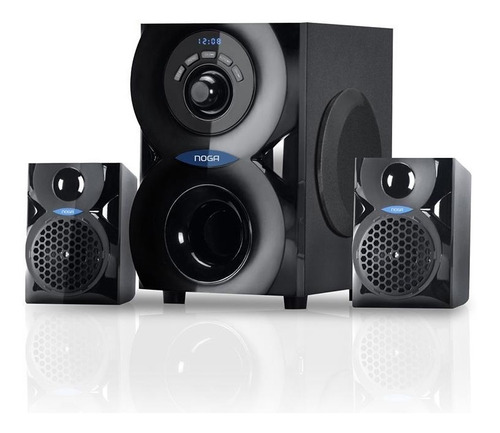 Parlante Home Theater 2.1 Noganet Spark Bluetooth 20w Fm