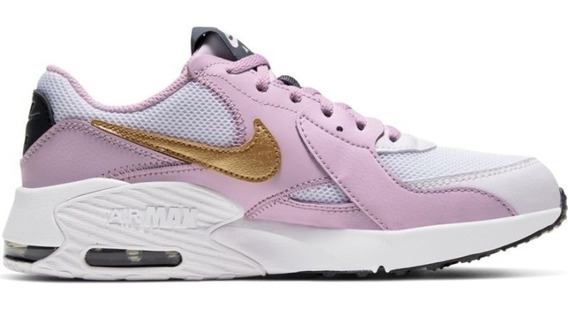 Tenis Nike Air Max Excee Blanco/lila/oro Cd6894 102