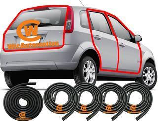 Kit Borracha Portas E P-malas Fiesta Hatch Sedan Até 13 4pgp