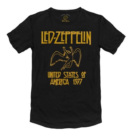 Remera Led Zeppelin Rock Algodón Peinado 24/1 Premium