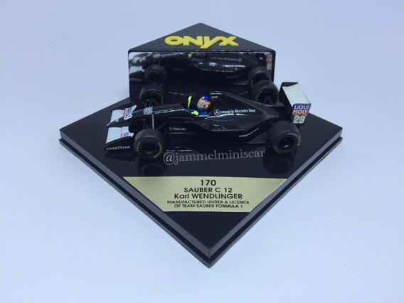 Miniatura F1 Sauber C12 Karl Wendlinger - Onyx - 1/43