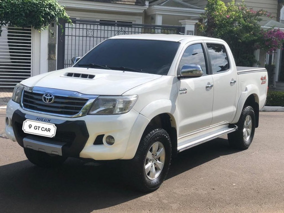 Toyota - Hilux 3.0 Srv Cabine Dupla 4x4 Diesel