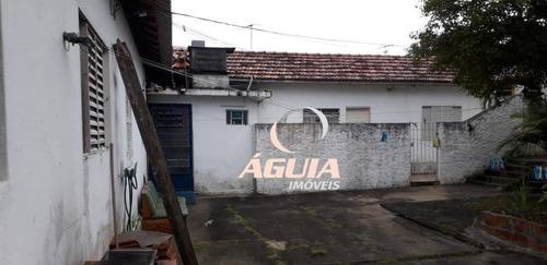 Terreno À Venda, 490 M² Por R$ 1.600.000 - Paraíso - Santo André/sp - Te0240