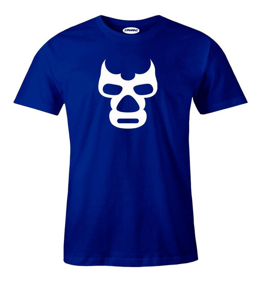 Playera Lucha Libre (el Santo, Blue Demon, Mil Mascaras)