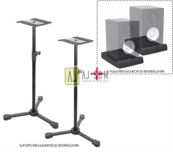 Kit-suporte,pedestal P/ Monitor Krk,yamaha+espumas 5