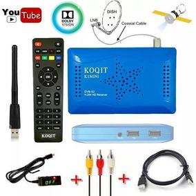 Receptor Cs Koqit K1 Mini Tv Satélite Completo