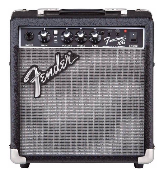 Fender Frontman 10g Amplificador Guitarra 10w Eq+ Aux Mp3 Cd